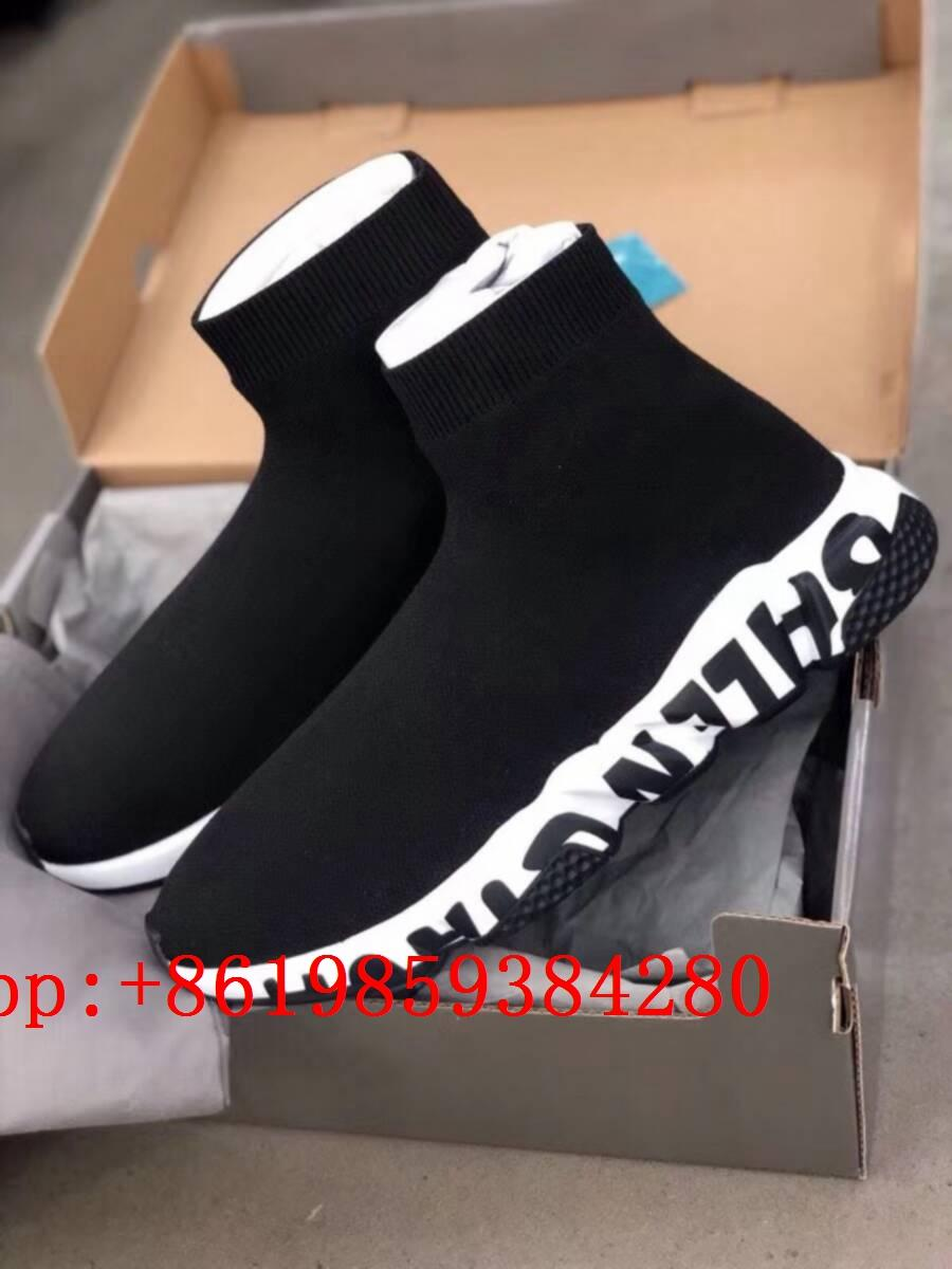 BB speed sock shoes BB stretch knit slip sneaker BB Speed high top sneakers 15