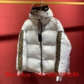 Fendi reversible Down jacket F Logo puffer jacket Fendi reversible padded jacket