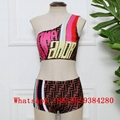 Fendi swimwear one-piece swimsuit Fendi underwear Fendi bathing suit Bikini New