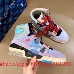Newest Arrival Louis Vuitton Trainer 508 High top sneakers discount hot sale