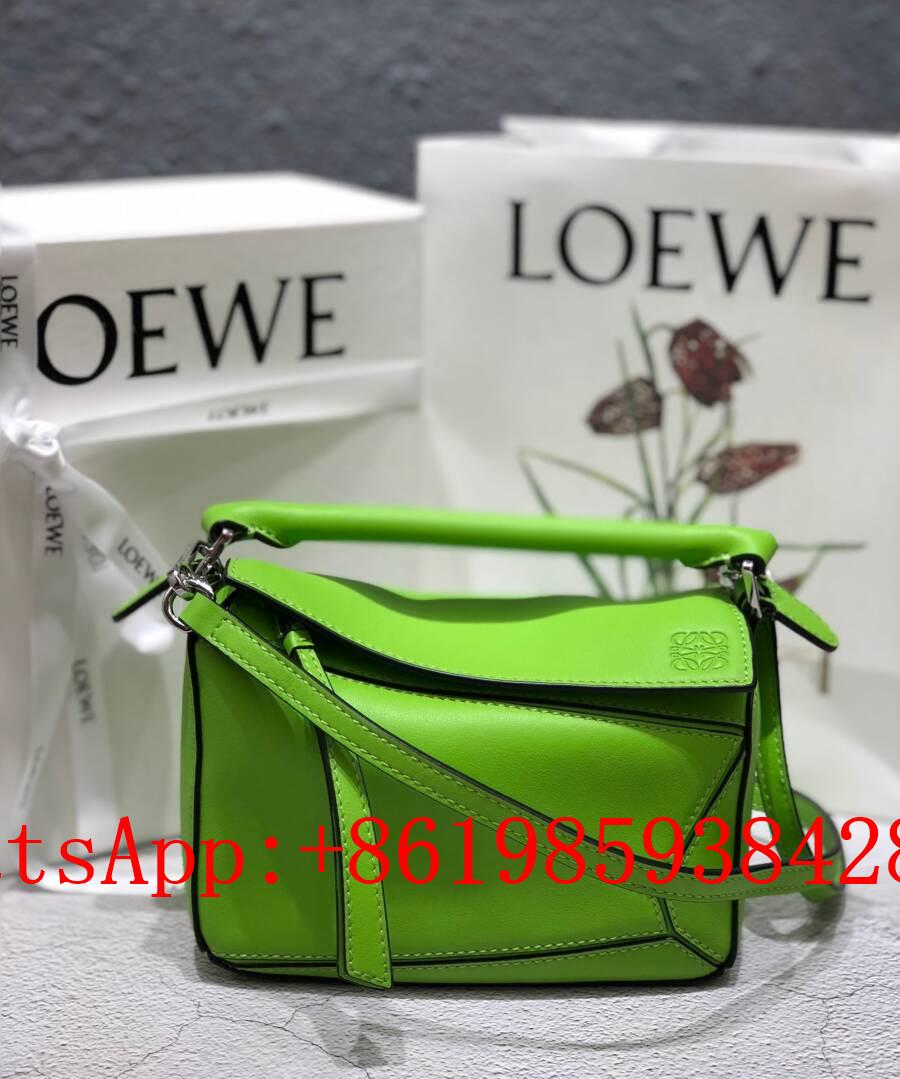 New LOEWE Puzzle Mini leather shoulder bag LOEWE women's shoulder bags CrossBody
