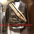 Newest Arrival Louis Vuitton Monogram Admiral Jacket LV coat 1A5Q6E hot sale
