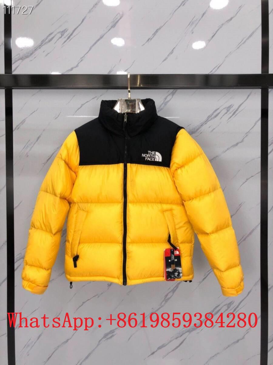 New Season The North Face puffy logo down jacket North Face zip padded jacket