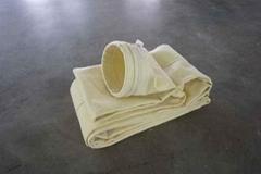 现货供应 耐高温覆膜氟美斯针刺毡 除尘布袋