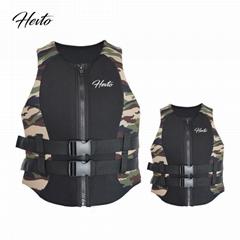 Camouflage life jacket