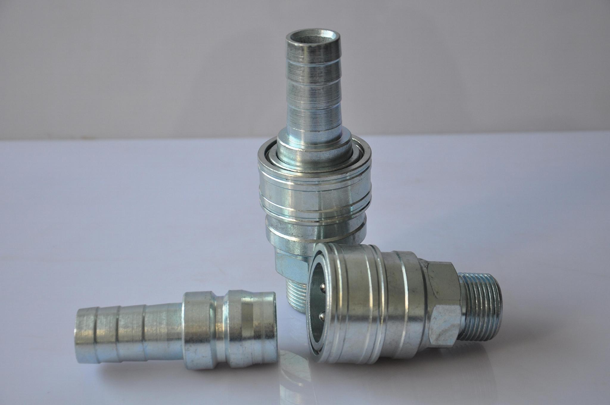 C式氣動快速接頭自鎖氧氣管空壓機氣泵配件風炮管公母快插 1