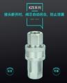 KZE开闭式液压快速接头双自封注塑机高压油管 4
