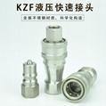 KZF304不锈钢开闭式液压快