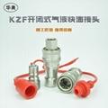 KZF304不锈钢开闭式液压快速接 耐高温高压 3