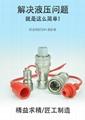 KZF304不锈钢开闭式液压快速接 耐高温高压 4