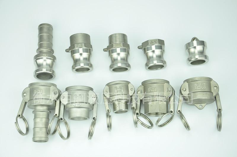 不鏽鋼扳把式快速接頭外螺紋鋼管水泵配件 2