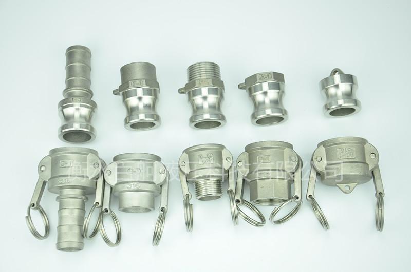 不鏽鋼扳把式快速接頭外螺紋鋼管水泵配件 3