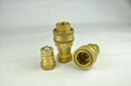 KZD黃銅開閉式高壓雙自封快速接頭 3