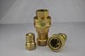 KZD7241-B黄铜液压快速接头耐高压耐高温 4