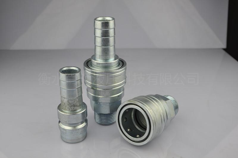 QKD-T单手半自动气管水管接头 1