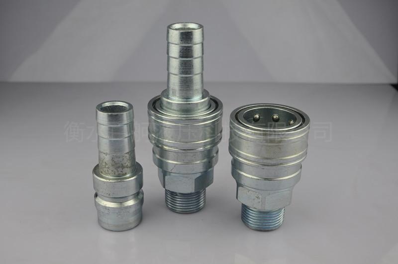 QKD-T單手半自動氣管水管接頭 2