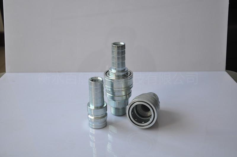 QKD-T單手半自動氣管水管接頭 4