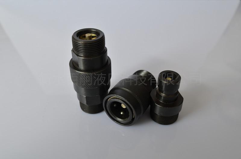 QZB275-77外螺纹高压油管开闭式快插快换接头 3