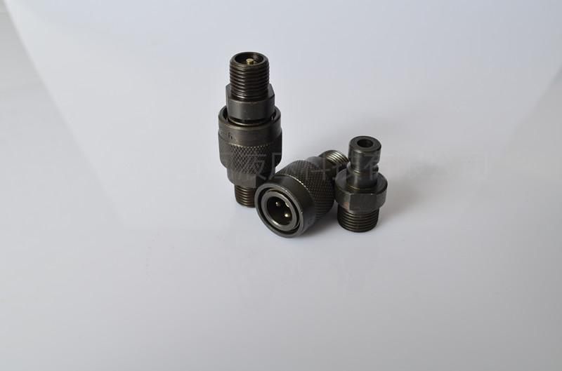 QZB275-77外螺紋高壓油管開閉式快插快換接頭 4