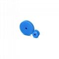 Plastic gear motor injection plastic