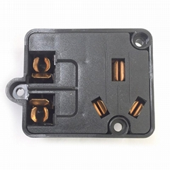 customized home appliance Wall Plug plastic injection molding
