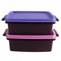 customized household commodity lunch box crisper plastic injection molding 2