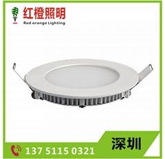 LED小面板燈圓形筒燈天花燈3w12w15w18w
