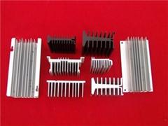 China customized high precision Aluminum profile deep processing supplier