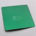仿廣州高比拉絲翡翠綠不鏽鋼板