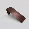 不鏽鋼噴砂鍍咖啡金裝飾板 4