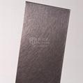 電鍍深褐色亂紋高比不鏽鋼裝飾板