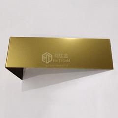 电镀乱纹钛金仿高比不锈钢装饰板
