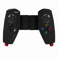 PG-9055 Wireless Bluetooth Game Controller Joystick Gamepad with Bracket for Pub