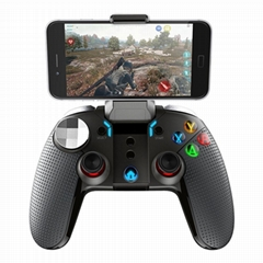 Wireless Bluetooth Dual Motor Turbo Gamepad Gaming Controller for Smart
