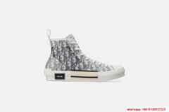 dior B23 HIGH-TOP SNEAKERS IN DIOR OBLIQUE dior shoes dior high cut shoes