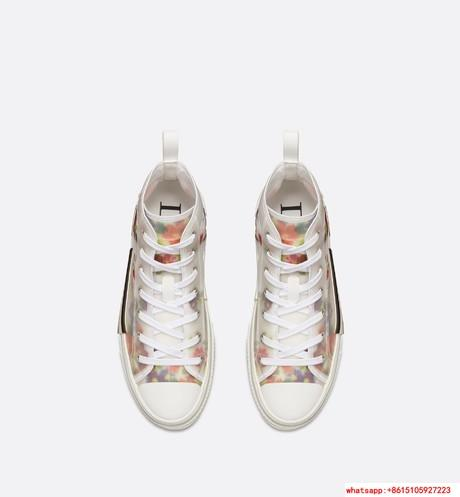 "FLOWERS TECHNICAL CANVAS ""B23"" HIGH-TOP SNEAKER      shoes      lace shoes 2"