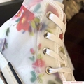 "FLOWERS TECHNICAL CANVAS ""B23"" HIGH-TOP SNEAKER      shoes      lace shoes 7"