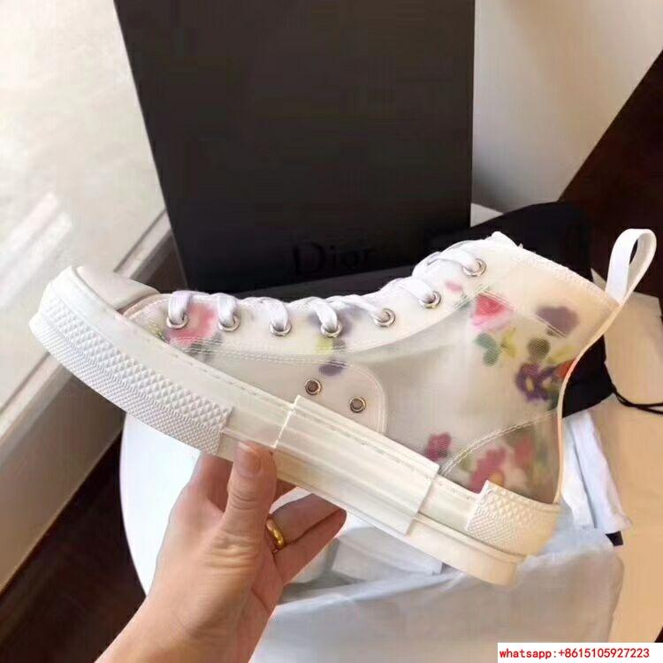 "FLOWERS TECHNICAL CANVAS ""B23"" HIGH-TOP SNEAKER      shoes      lace shoes 12"