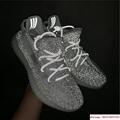 "Yeezy Boost 350 V2 ""Static        reflective sport shoes  EF2367 white 3"