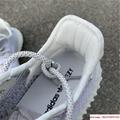 "Yeezy Boost 350 V2 ""Static        reflective sport shoes  EF2367 white 4"