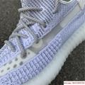 "Yeezy Boost 350 V2 ""Static        reflective sport shoes  EF2367 white 5"