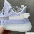 "Yeezy Boost 350 V2 ""Static        reflective sport shoes  EF2367 white 8"