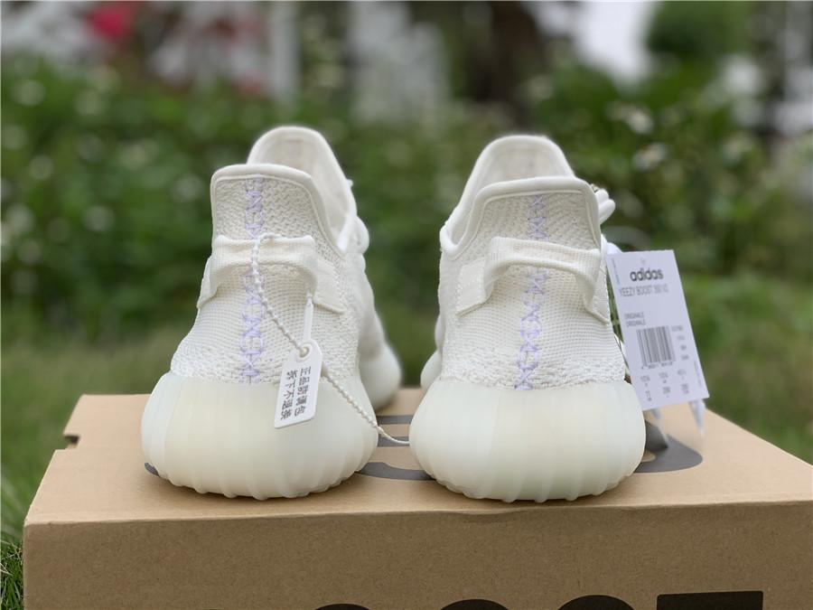 "Yeezy Boost 350 V2""All white"" yeezy sport shoes        runnihng sneaker  4"