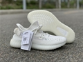 "Yeezy Boost 350 V2""All white"" yeezy sport shoes        runnihng sneaker  6"