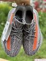 Yeezy Boost 350 V2 grey and orange triple EG7963 adias yeezy shoes  5