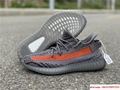 Yeezy Boost 350 V2 grey and orange