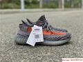 Yeezy Boost 350 V2 grey and orange triple EG7963 adias yeezy shoes  11