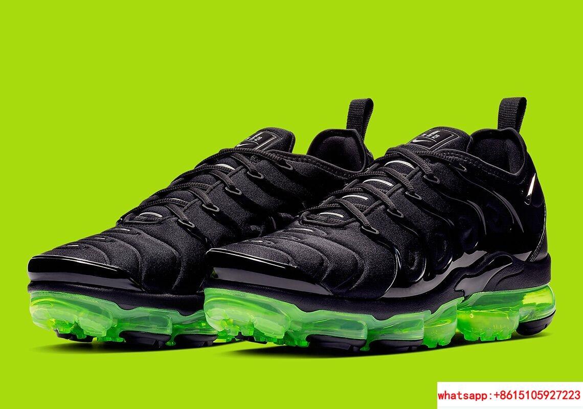 Nike Air VaporMax Plus Black Volt Reflect Silver nike air max shoes nike shoes 2