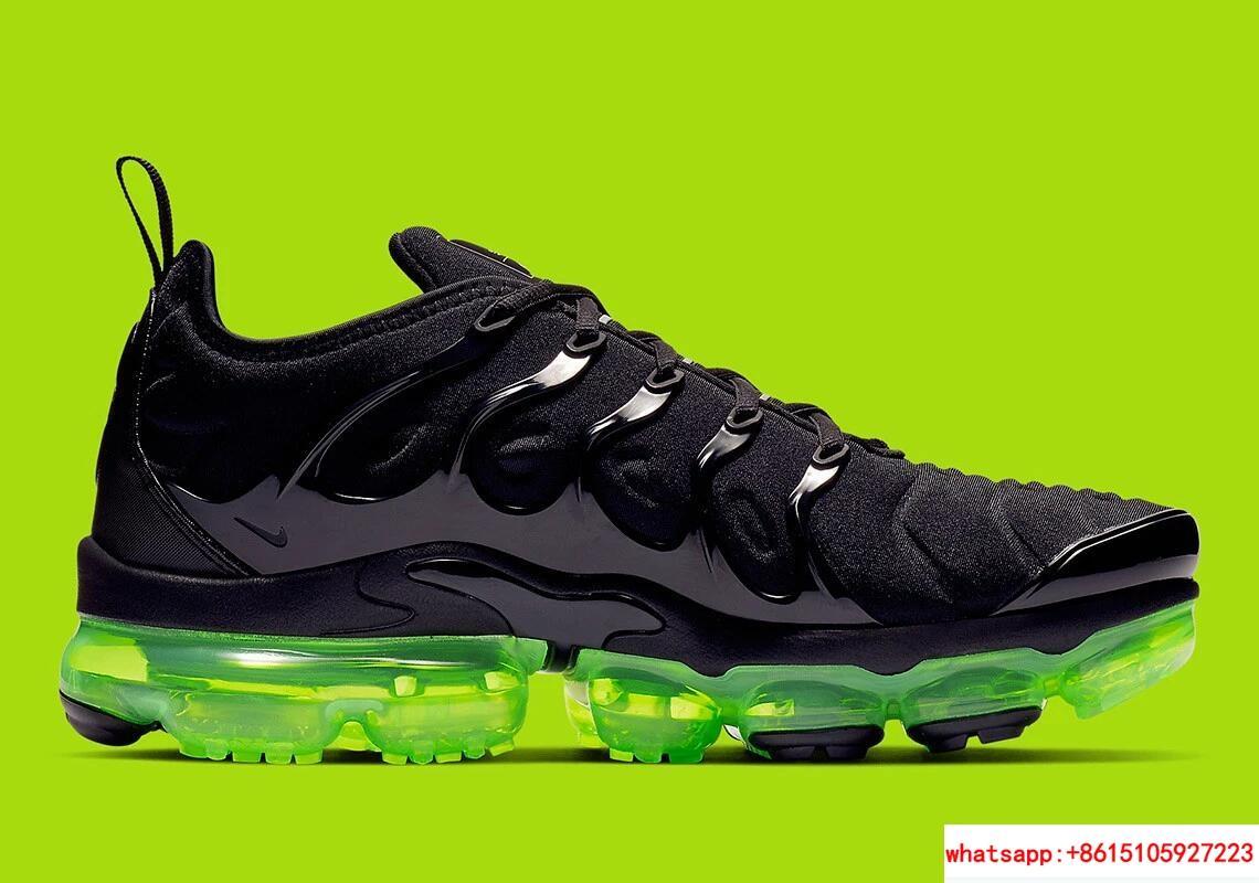 Nike Air VaporMax Plus Black Volt Reflect Silver nike air max shoes nike shoes 1