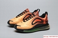 Newest Nike Air Max 720 orange shoes